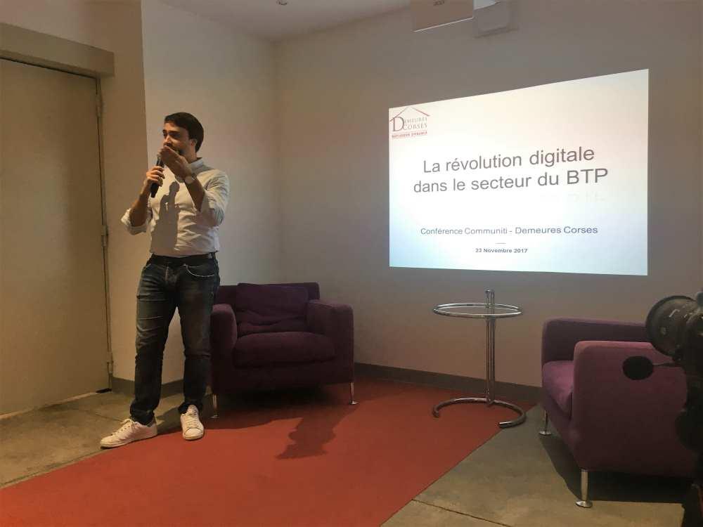 Joseph COMPARETTI : présentation du Building information modeling (BIM)